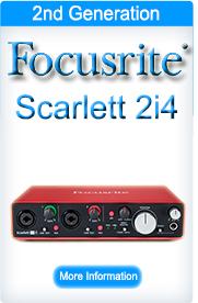 Focusrite Scarlett 2i4 (2nd Generation)