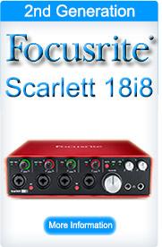 Focusrite Scarlett 18i8 (2nd Generation)