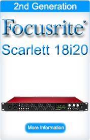 Focusrite Scarlett 18i20 (2nd Generation)