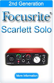 Focusrite Scarlett Solo 2nd Generation