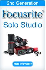 Focusrite Scarlett Solo Studio (2nd Generation)