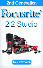 Focusrite Scarlett 2i2 Studio (2nd Generation)