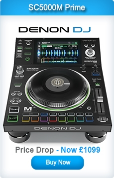 Denon SC5000M Prime Professional DJ Media Player