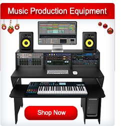 Studio Recording and Music Production Equipment