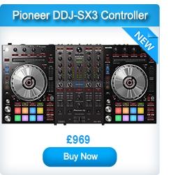 Pioneer DDJ-SX3 Serato DJ Controller