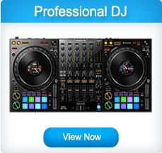 Professional DJ Controllers