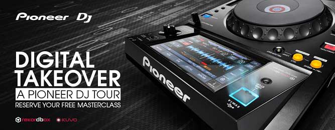 Book your FREE training for Digital Takeover - a Pioneer DJ Tour