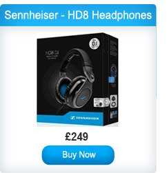 Sennheiser - HD8 DJ Professional Headphones