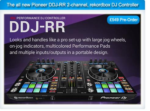 Pioneer DDJ-RR Rekordbox DJ Controller