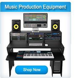 Studio Recording and Music Production Equipment
