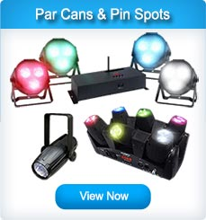 Par Cans and Pinspots