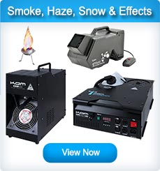 Fog Machines / Haze Machines / Snow Machines / Bubble Machines