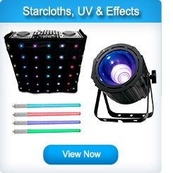 Starcloths, UV and Effects