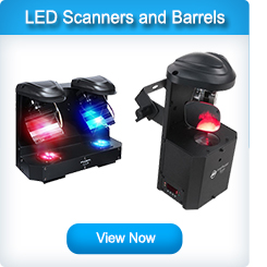 LED Scanners and Barrels