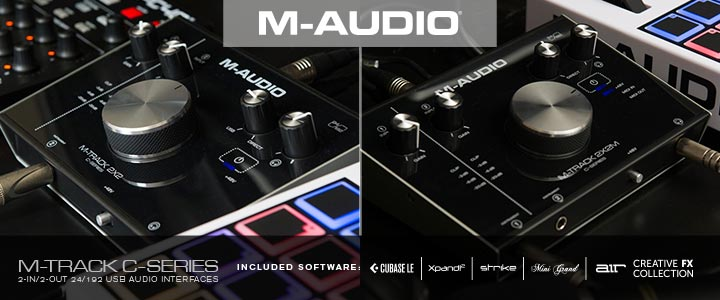 M-Audio C-Series Audio Interfaces