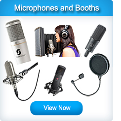 Studio Microphones and Vocal Booths
