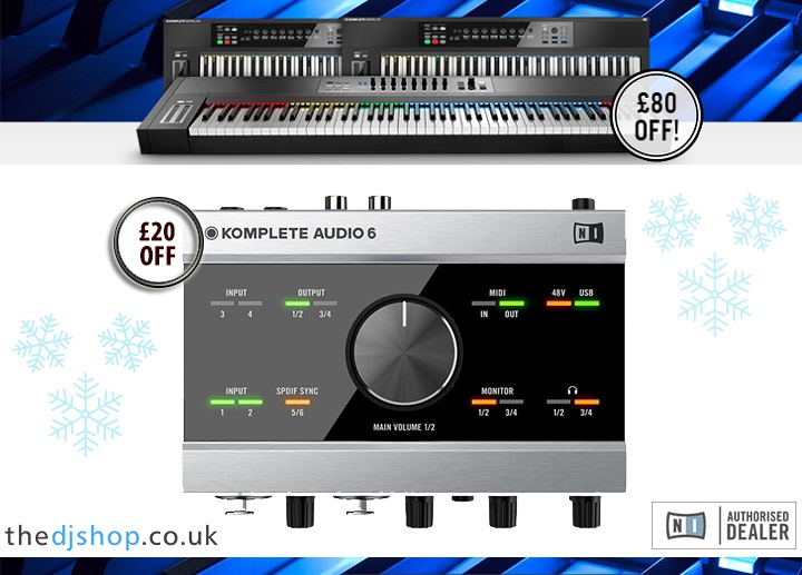 Native Instruments Xmas 2016 Offer