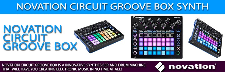 Novation Circuit Groove Box Synth