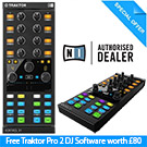 Traktor X1 with Free Traktor Pro 2 DJ Software worth £80