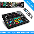 Native Instruments Maschine Studio (Black) with 7 FREE Expansion Packs