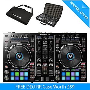 Pioneer DDJ-RR Rekordbox DJ Controller with FREE Case