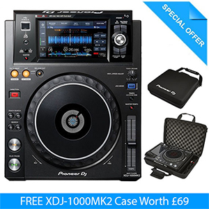 Pioneer XDJ-1000MK2 Multiplayer with FREE Case