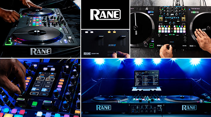 RANE - DJ & Scratch Mixers | DVS Equipment | Controllers