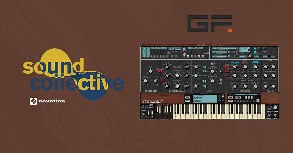 Novation Sound Collective offer with GForce Minimonsta