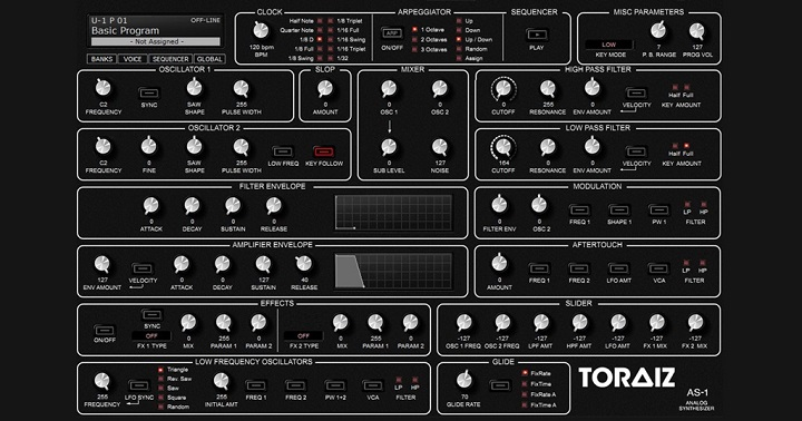 TORAIZ AS-1 – Sound Editor