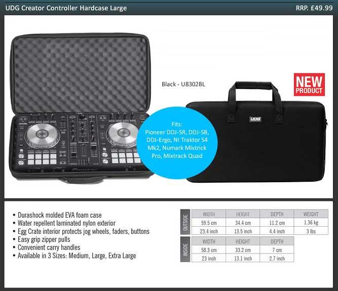UDG Creator Controller Hardcase Large