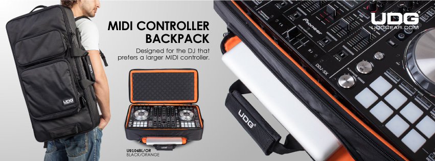 UDG Release The New Urbanite MIDI Controller Backpack