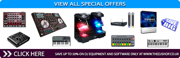 The DJ Shop View All Special Offers