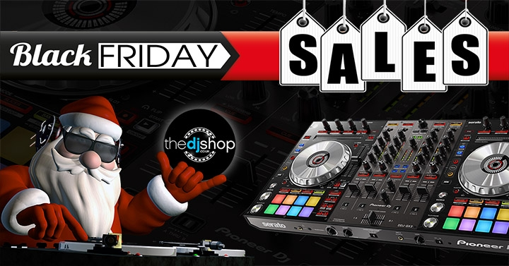 Black Friday DJ and Music Production Equipment Deals