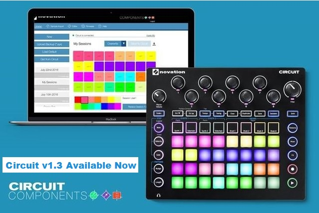 Novation Announce Circuit v1.3