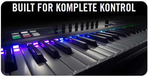 KOMPLETE KONTROL S-Series keyboards