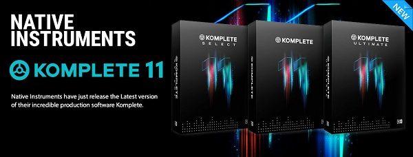 Komplete 11 Software