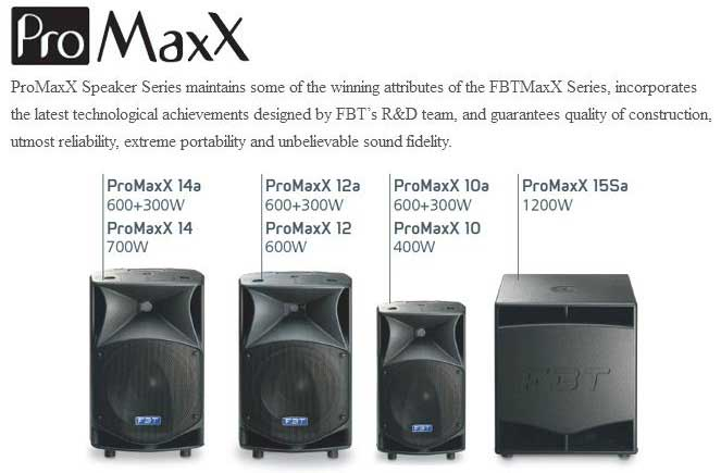 ProMaxX Speaker Series
