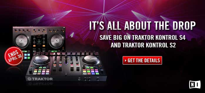 Save Big On The Native Instruments Traktor Kontrol S4 and S2