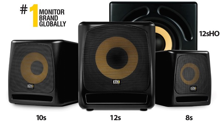 New S-series of studio subwoofers launched by KRK