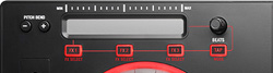 Mixtrack Pro 3 Touch Strip