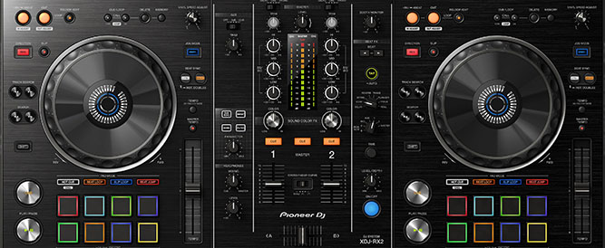 XDJ-RX2 Familiar club standard layout